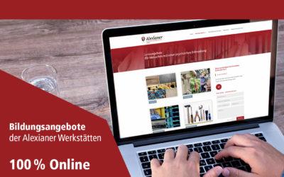 Alexianer Werkstätten GmbH – Jetzt auch online lernen!