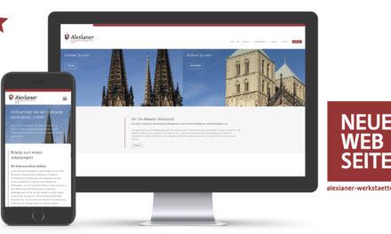 BeruflicheRehabilitation kompakt und digital: Website-Relaunch der Alexianer Werkstätten GmbH