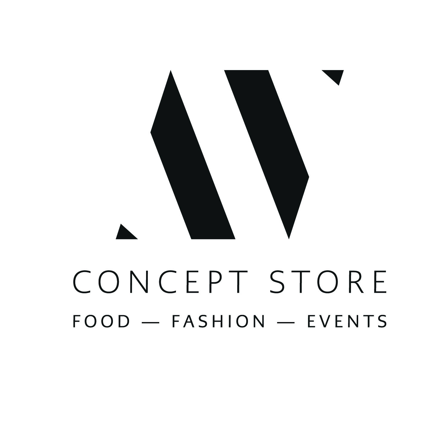 Logo Concept Store, Food, Fashion, Events